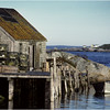Nova Scotia Canada Peggys Cove 5 October 1988