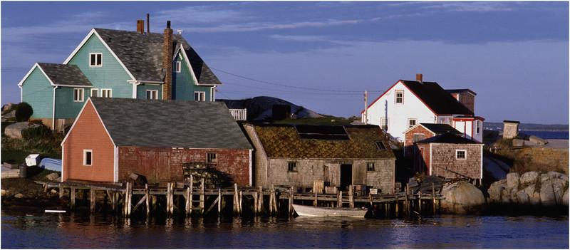 Nova Scotia Canada Peggys Cove 4 October 1988