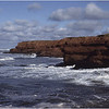 PEI Canada South Shore Red Sandstone Cliffs October 1988