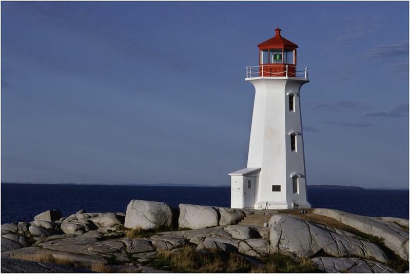 Nova Scotia Canada Peggys Cove 3 Lighthouse October 1988