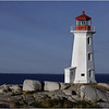 Nova Scotia Canada Peggys Cove 3 Lighthouse October 1988