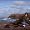 PEI Canada South Shore Red Sandstone Cliffs Laurin Trainer October 1988