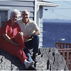 Upper Island Cove Newfoundland Canada Barb and Husband BB Proprietors October 1988