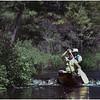 Adirondacks Forked lake Brandreth Inlet Pete Bessette Joe Amyot Shooting Dam August 1980