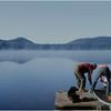 Adirondacks Forked Lake Campsite 35 Leo Bessette Ron Stidnick Sr Dock August 1975