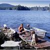 Adirondacks Forked Lake Campsite 35 Bob Goot Dave Bourgeois Brushing August 1975