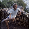 Adirondacks Forked Lake Campsite 35 Bob Goot Firewood August 1975