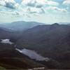 Adirondacks Lake Colden and Flowed Lands from Mt  Colden July 1978