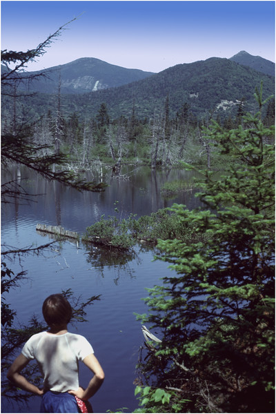 Adirondacks Boreas Ponds Headwaters Mts Marcy Etc Bob Goot July 1978