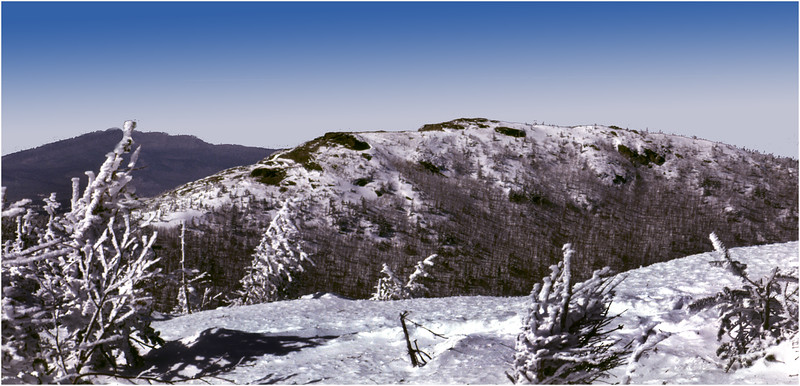 Adirondacks Cascade Peak View of Porter Mt Janaury 1982