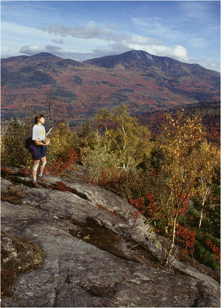 Adirondacks Giant Mountain From  Brothers Kim Murray Bessette September 1995