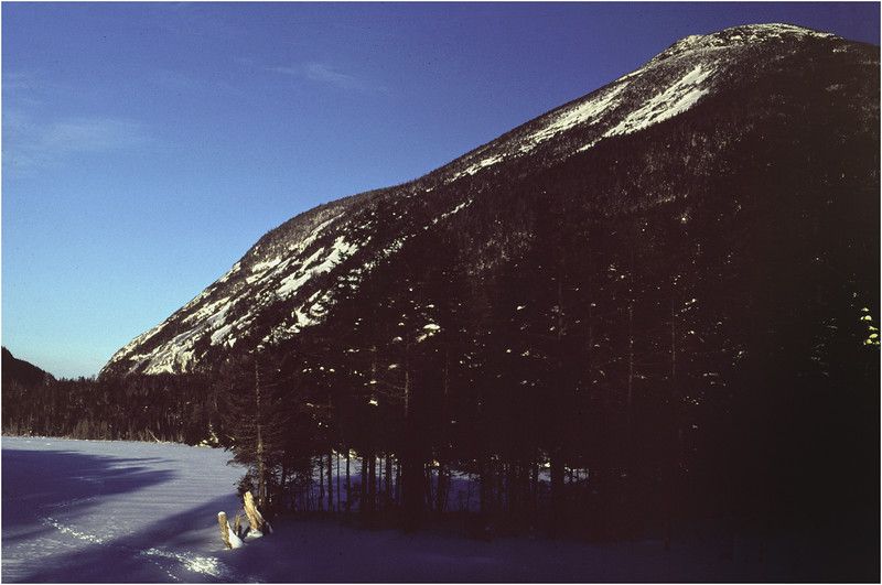 Adirondacks Lake Colden View Mt Colden January 1977