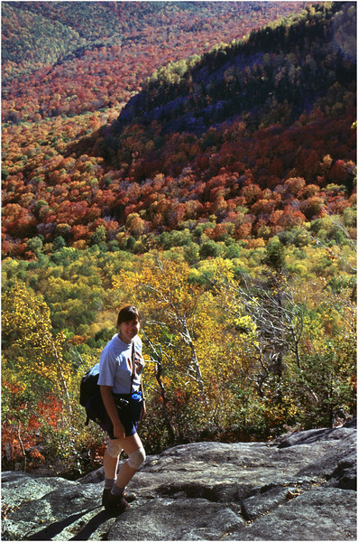 Adirondacks  Brothers Trail Kim Hiking September 1995