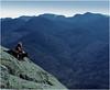 Adirondacks Wright Peak View Great Range Bob Goot and Bucky September 1975