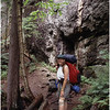 Adirondacks Avalanche Pass Trail Kim July 1995