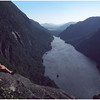Adirondacks Ausable Lakes from Indian Head Bob Goot 1 June 1978