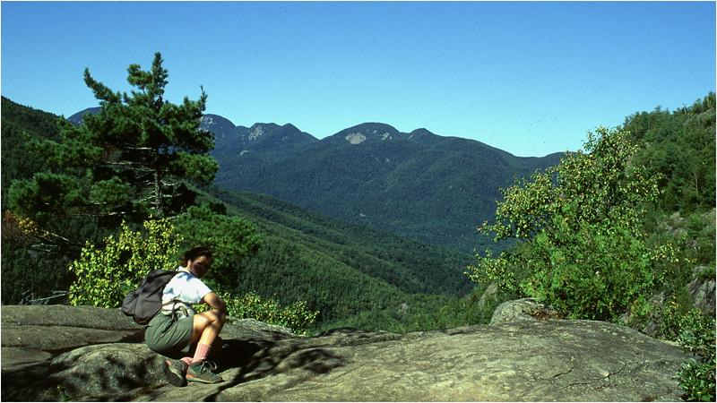 Adirondacks Giant Mt Trail Kim View Great Range August 1992