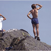 Adirondacks Watcging Ravens on Mt Marcy July 1979