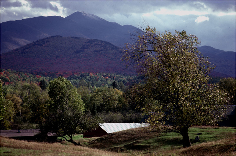 Adirondacks North Elba Algonquin and Farm September 1986