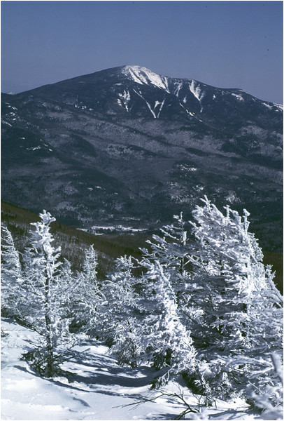 Adirondacks Porter Mt View Giant Mt  2 January 1982