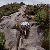 Adirondacks Mt Skylight Kim Bessette and Mcki Ascending July 1995