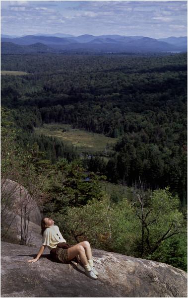 Adirondacks Black Bear Mountain Eileen Satterly July 1996