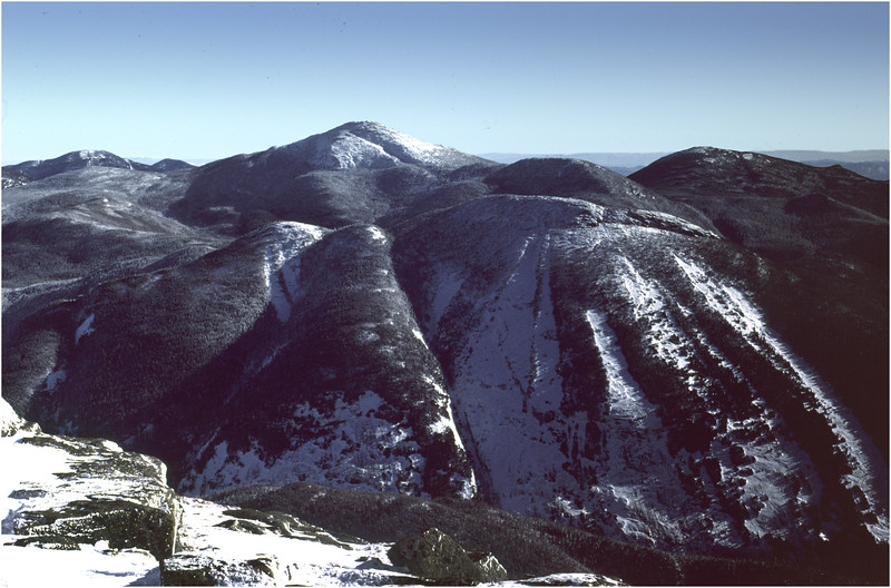Adirondacks Algonquin Peak View Mts Colden and Marcy 1 January 1977