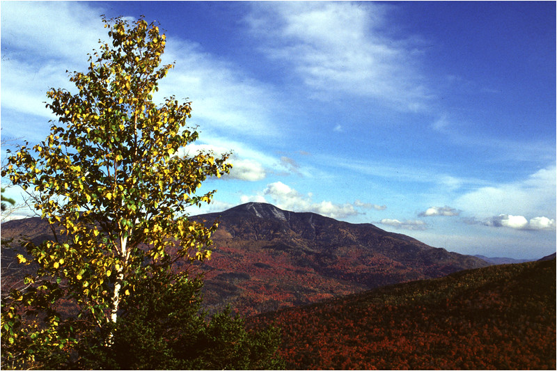 Adirondacks Giant Mountain From  Brothers 4 September 1995