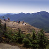 Adirondacks Giant Mt Summit 6 View McIntyres August 1992