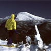Adirondacks Mt Colden View Mt Marcy Bob Goot March 1982