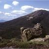 Adirondacks Skylight Peak View of Mt Marcy July 1979