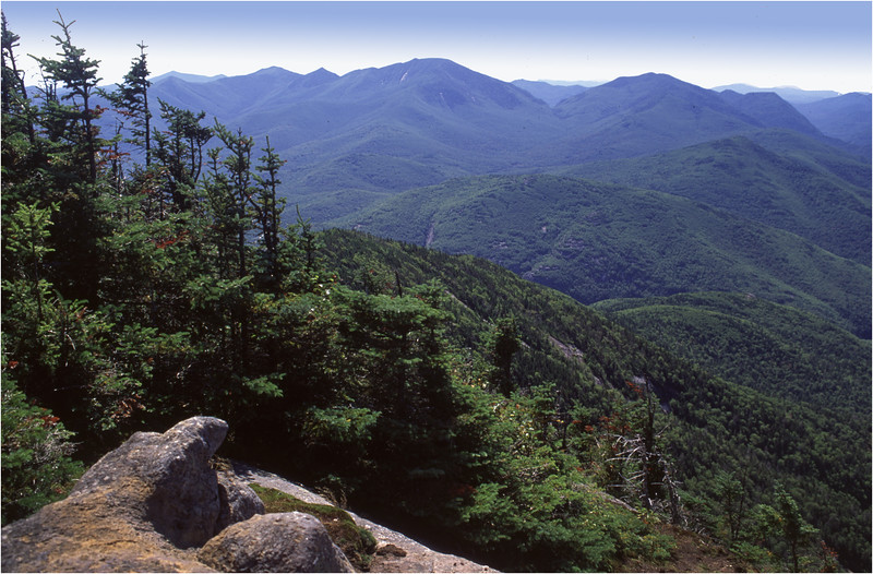 Adirondacks Giant Mt Summit 4 View Dixes August 1992
