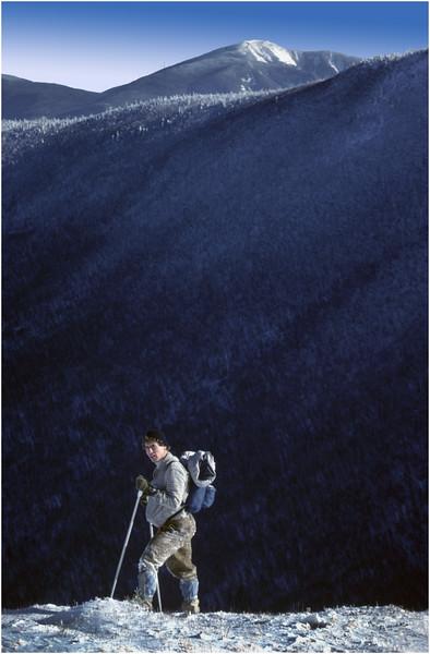 Adirondacks Cascade Peak Giant Mountain Joe Lesnick January 1982