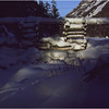 Adirondacks Lake Colden Dam January 1977