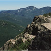 Adirondacks East Dix View Giant Mountain August 1976
