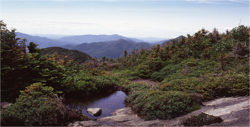 Adirondacks Mt Skylight View NW from Timberline July 1995