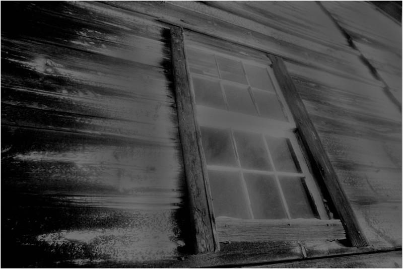 Washington County NY Abandoned Barns 5 IR Film June 1984