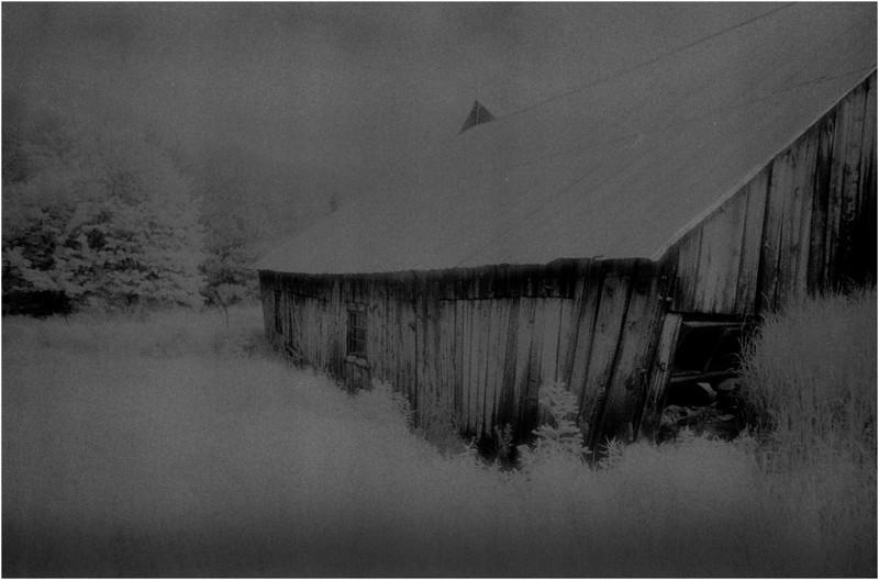 Washington County NY Abandoned Barns 3 IR Film June 1984