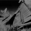 Albany County NY Collapsed Barn 1 IR Film June 1992