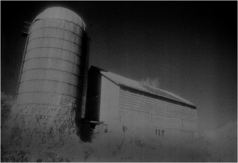 Washington County NY Barn and Silo IR Film June 1987