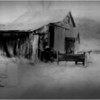 Adirondacks Reber Moran Farm 3 IR Film April 1997