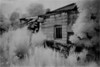 New Salem NY Abandoned Home Heldeberg Ruins IR Film May 1991