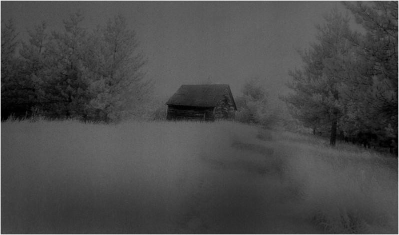 Washington County NY Abandoned Barns 7A IR Film June 1984