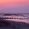 South Carolina Folly Beach Sunrise  May 1981
