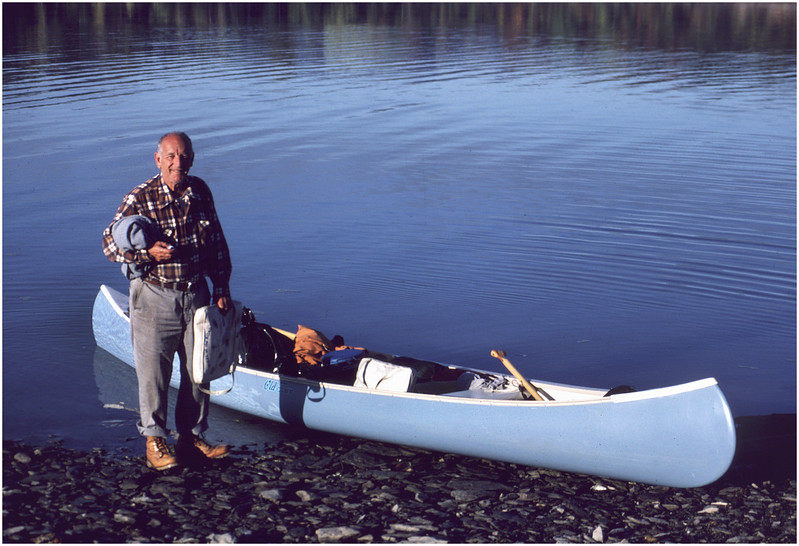 Waterford NY Leo Bessette Packed Canoe  June 1978