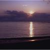 Folly Beach SC Sunrise 3 May 1993