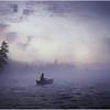 Adirondacks Forked Lake Morning Paddler 5 August 1981