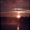 Adirondacks Lake Champlain Ticonderoga Sunrise 1 July 1981