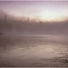 Adirondacks Forked Lake Morning Mist Lightr August 1999