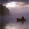 Adirondacks Forked Lake Morning Paddler 2 August 1981